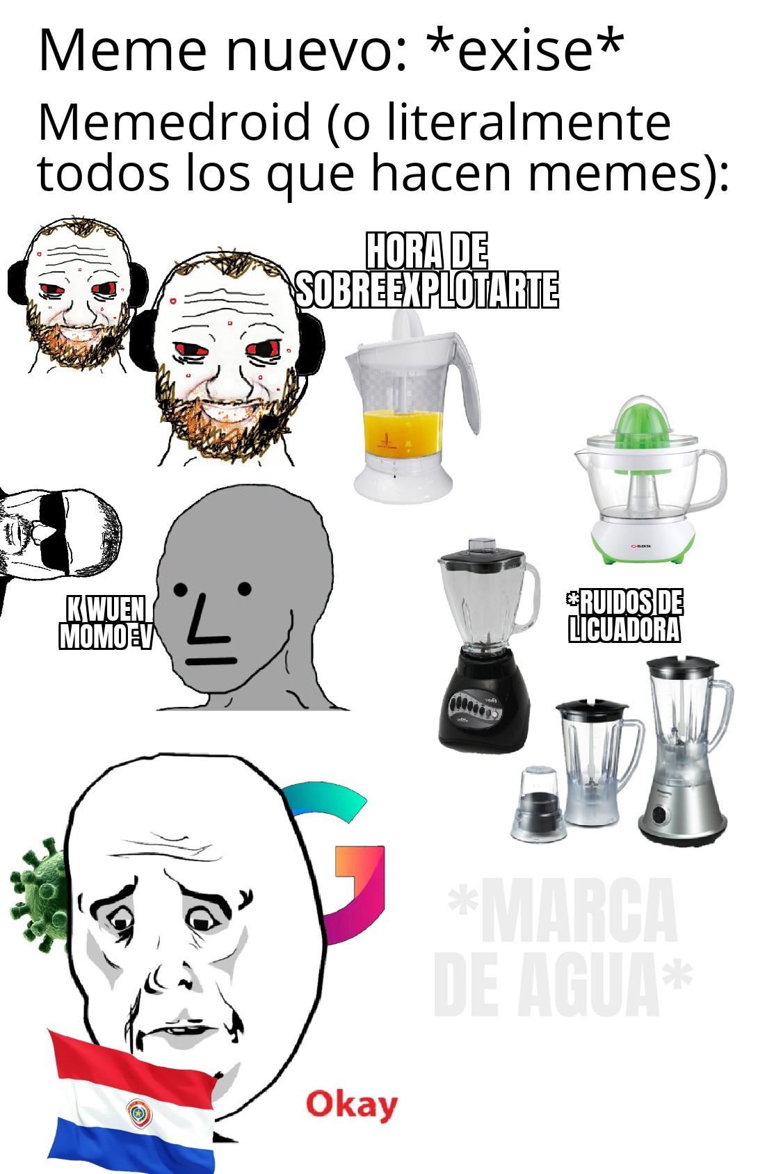 Momosdroid momento - meme