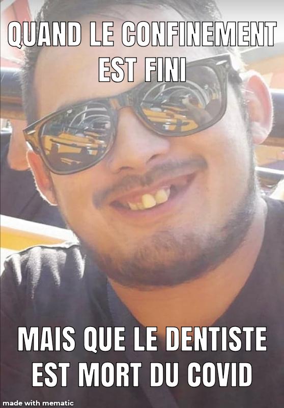 Covid  dentiste - meme