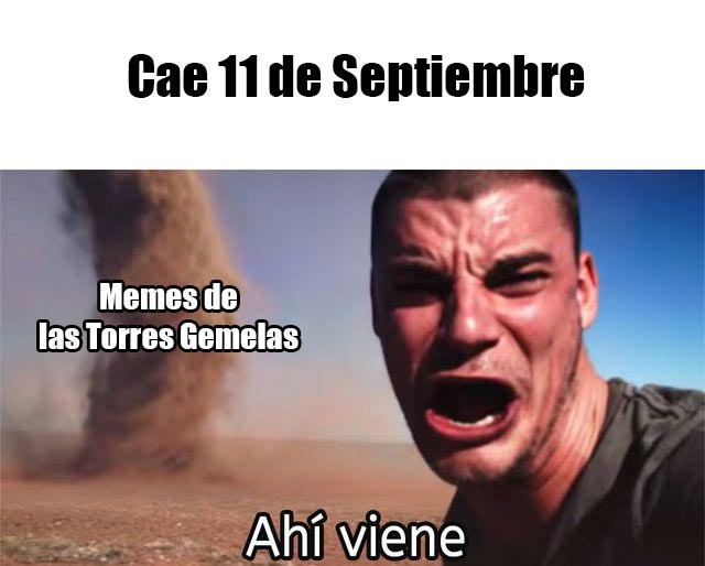 Hoy es el día ✈ - meme