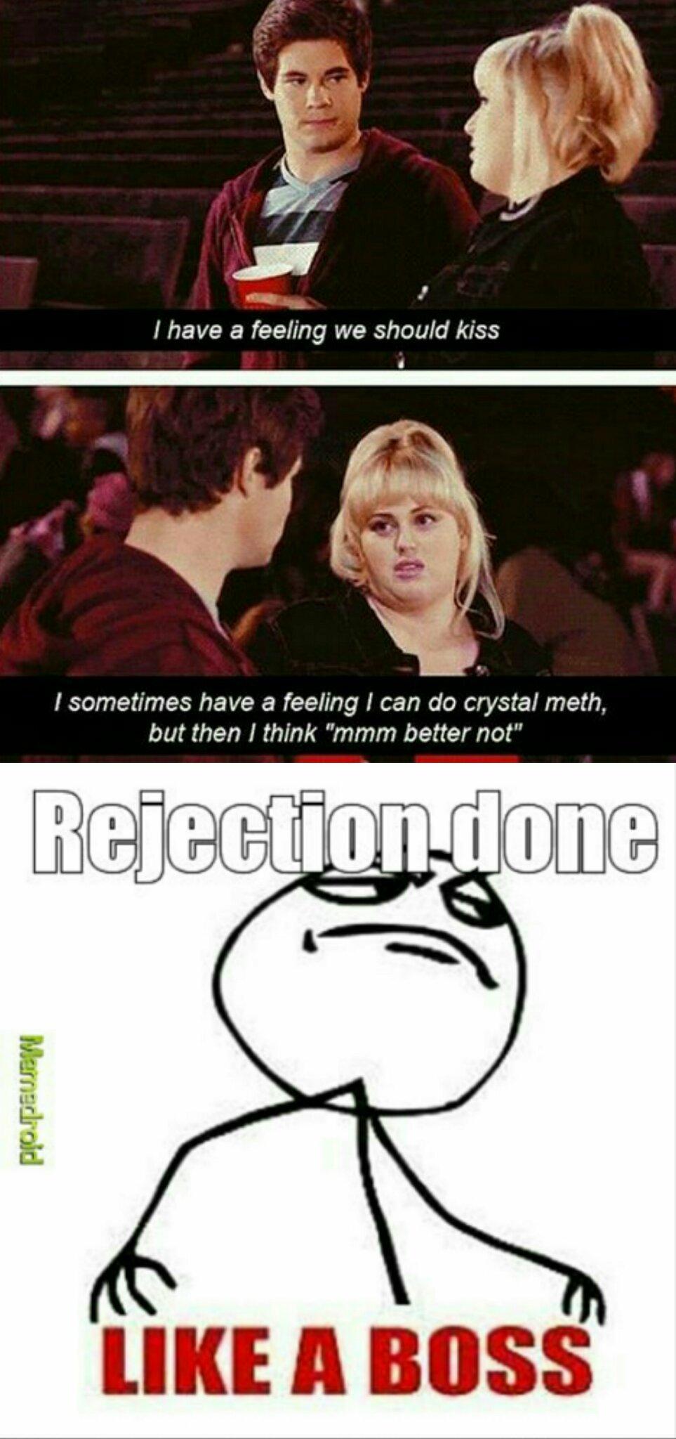 Rejection - meme