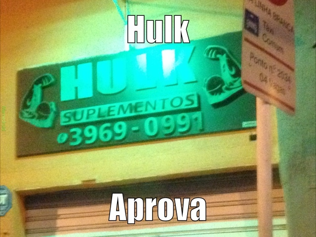 Hulk esmaga - meme