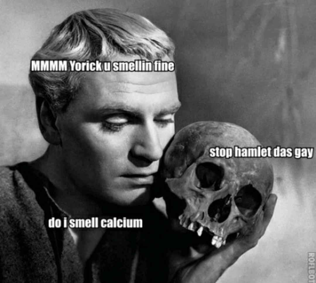 Calcium. - meme
