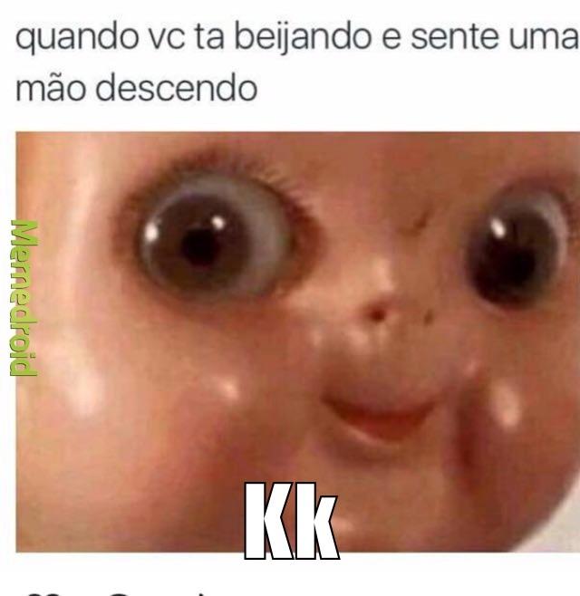k (aquela carinha) - meme