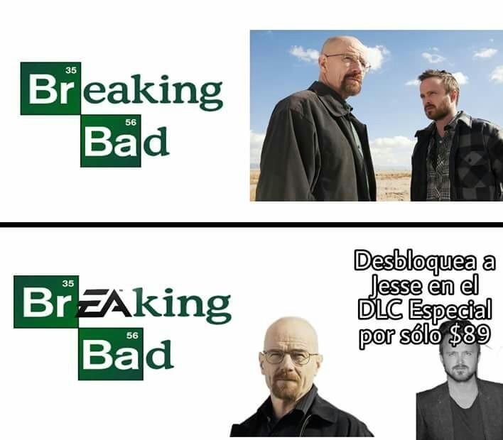 Típico de EA - meme