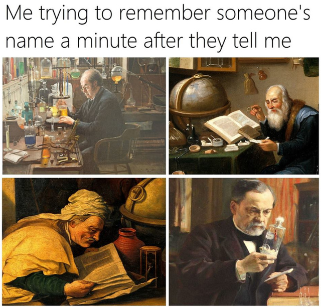Sorry what was your name? - meme