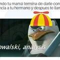 Si analysis no hay kowalski