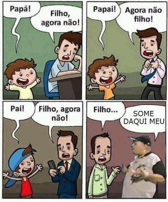 SOME DAQUI PLAYBOY FILHO DA PUTA - meme