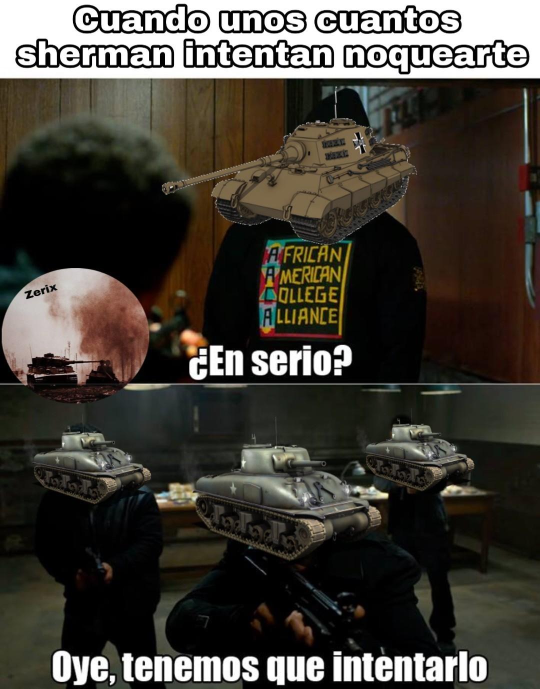 El buen königstiger - meme