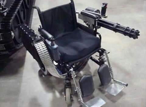 La silla de Rambo - meme