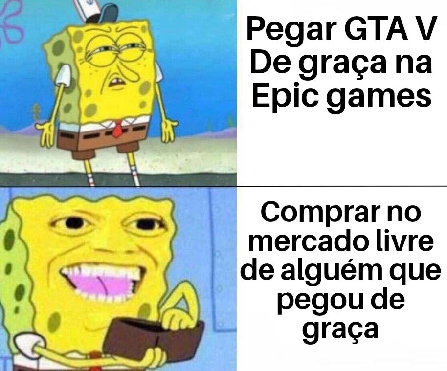 Título foi comprar GTA Tropa de elite - meme