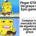 Título foi comprar GTA Tropa de elite