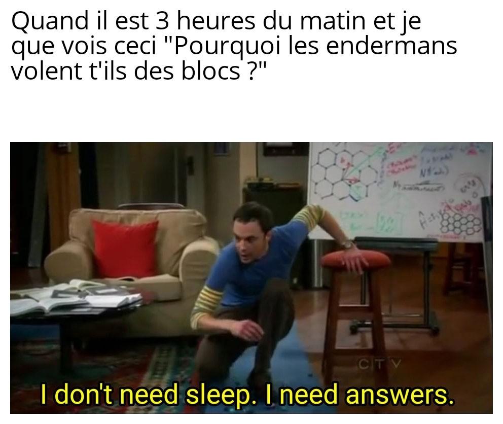 La question existentielle - meme