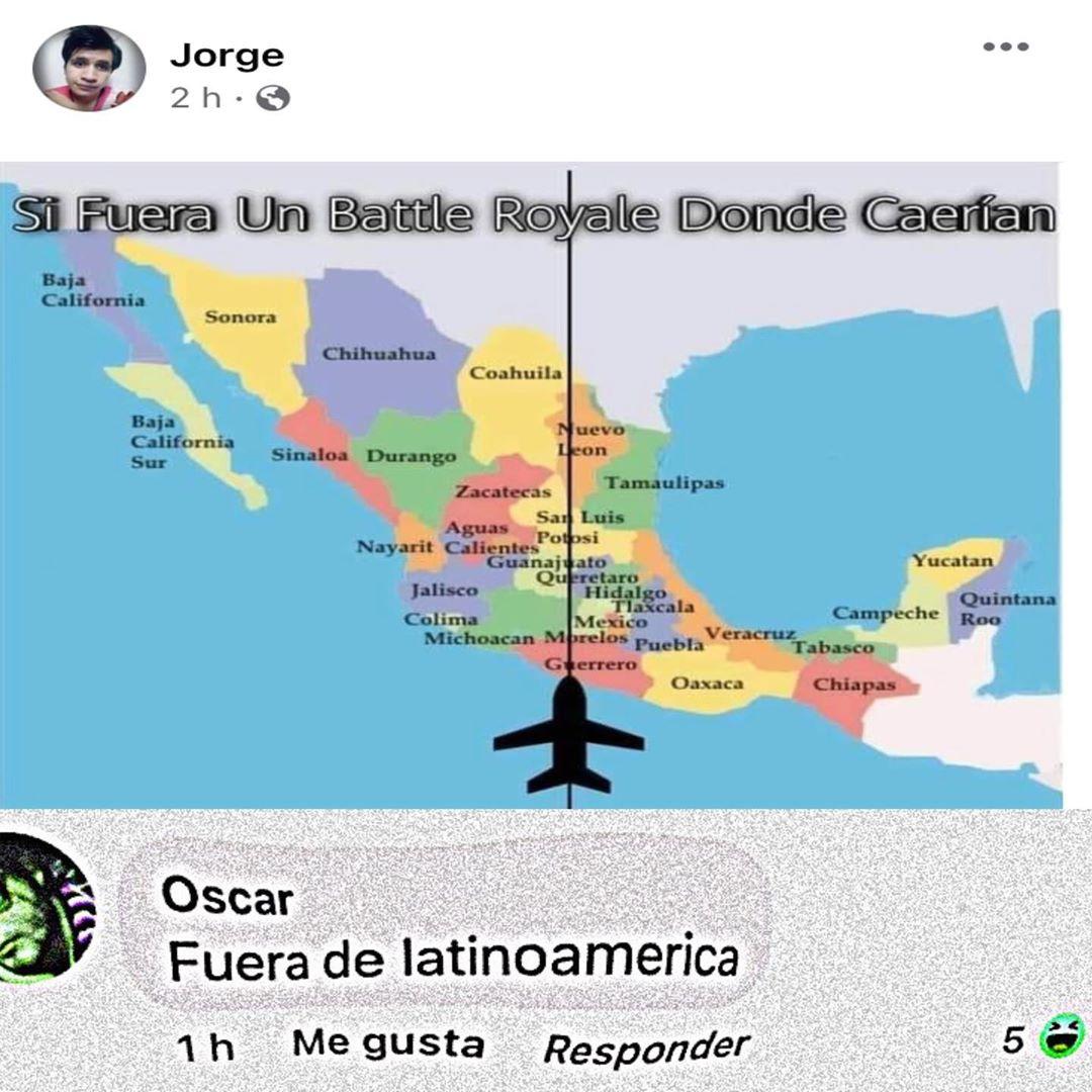 En Latinoamérica hay armas buen loot - meme