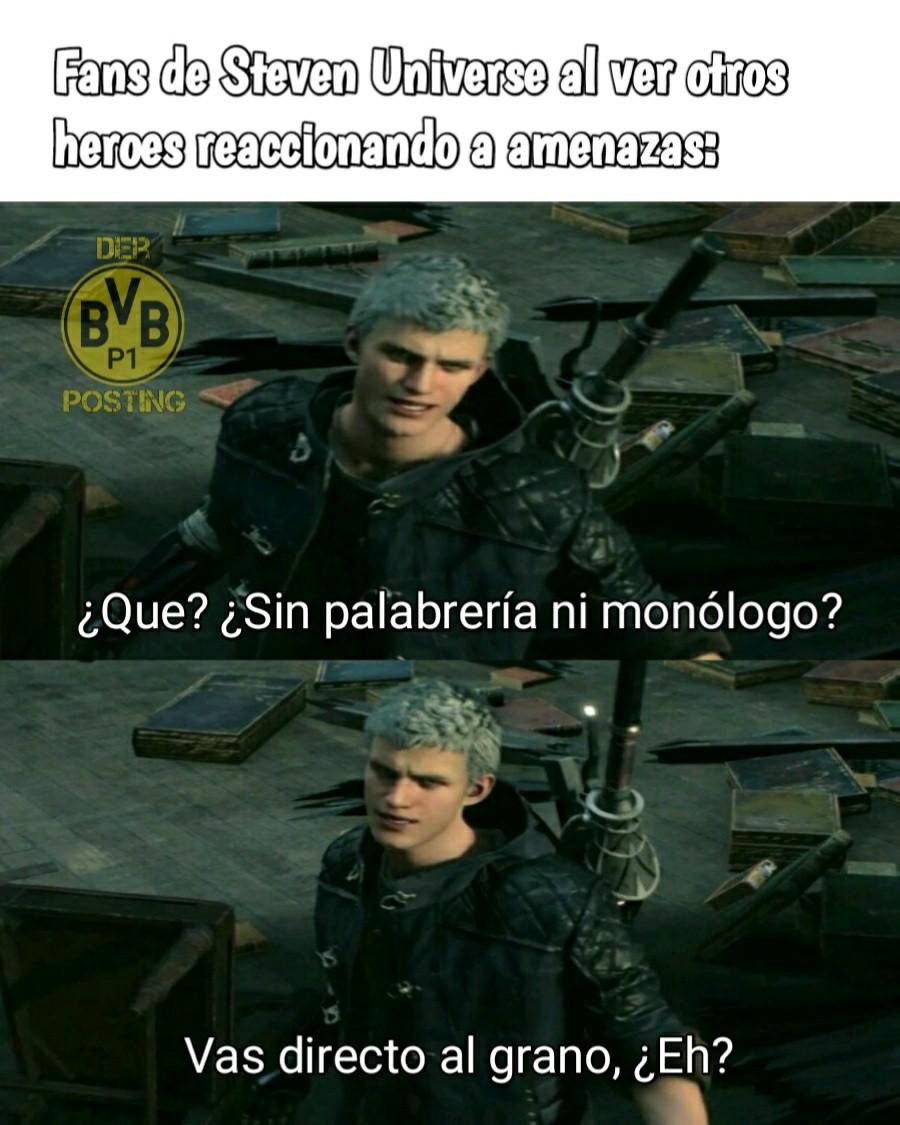 Nero ist der beste charakter in Devil May Cry. :son: - meme