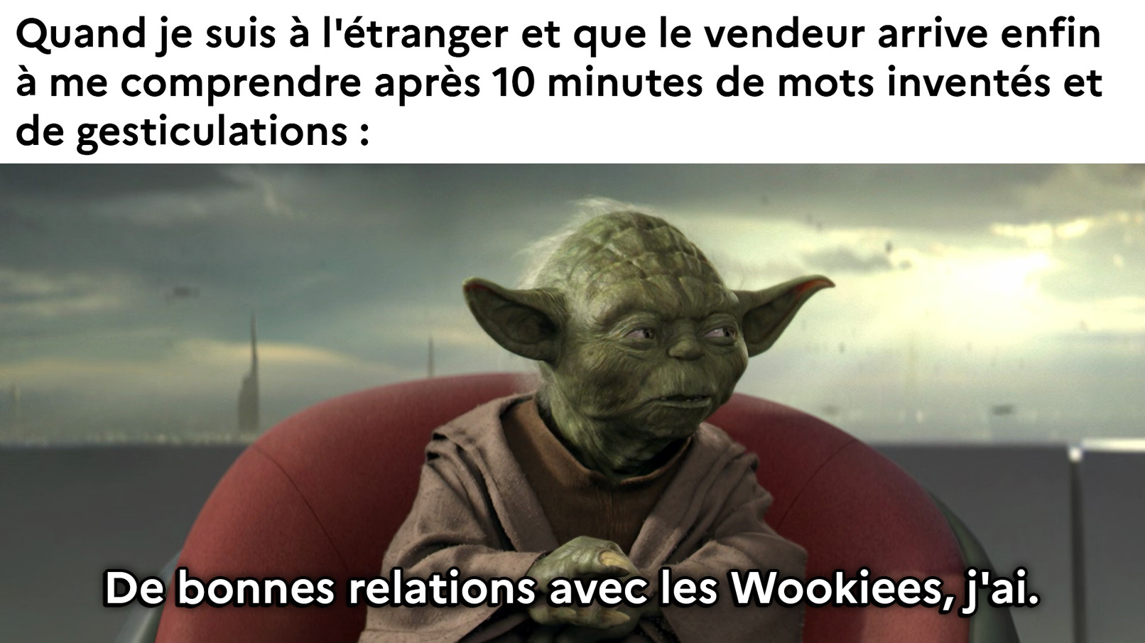 do you speak français - meme