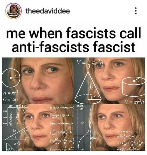 anti-anti-fascist - meme