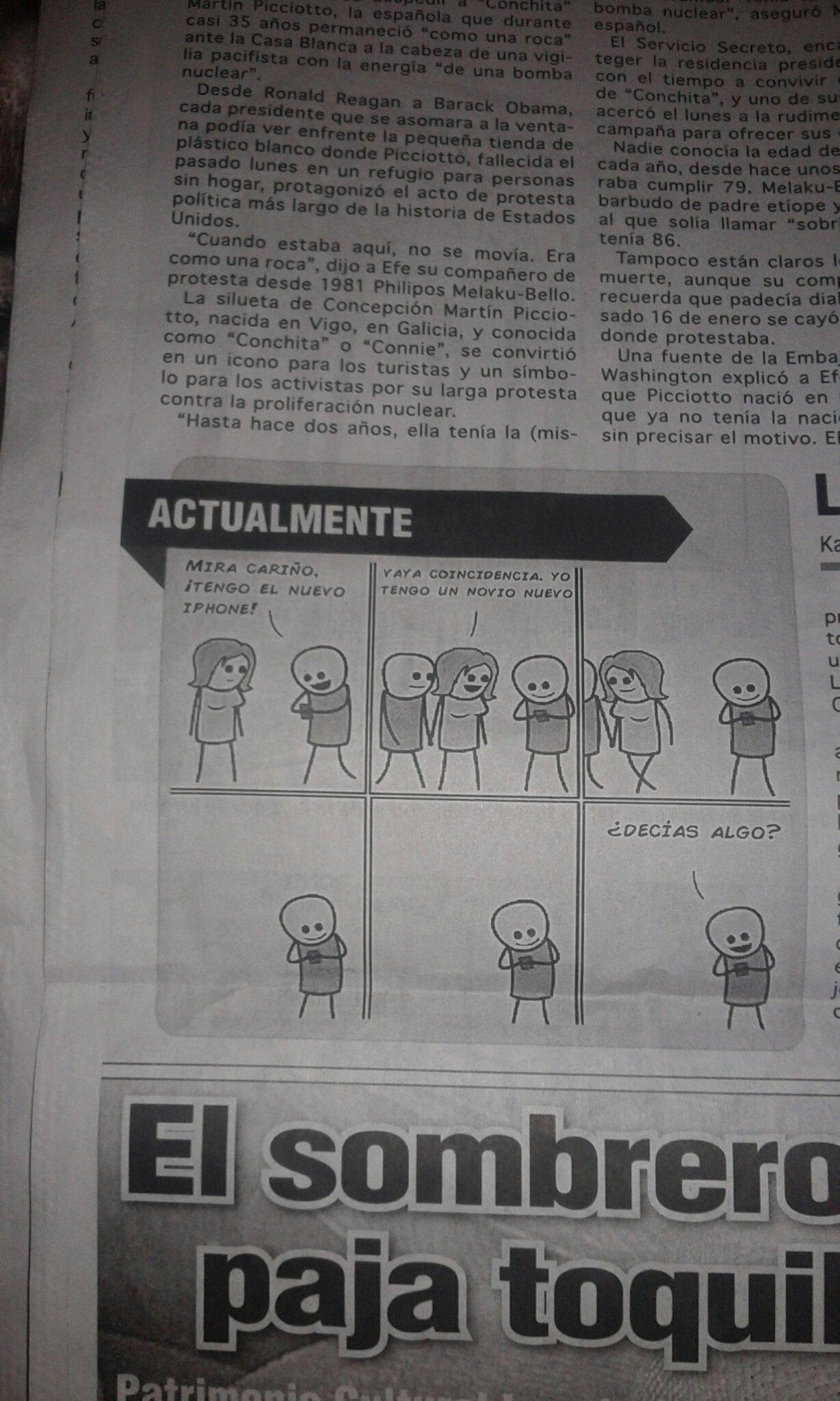 CUANDO HASTA EN EL PERIODICO ME PUBLICAN Y EN MEMEDROID NO...  :'(