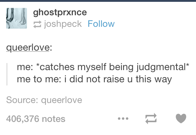 I'm trying not to be judgmental. - meme