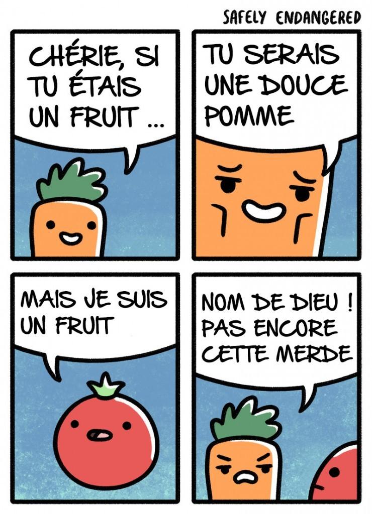 Histoires de fruits - meme