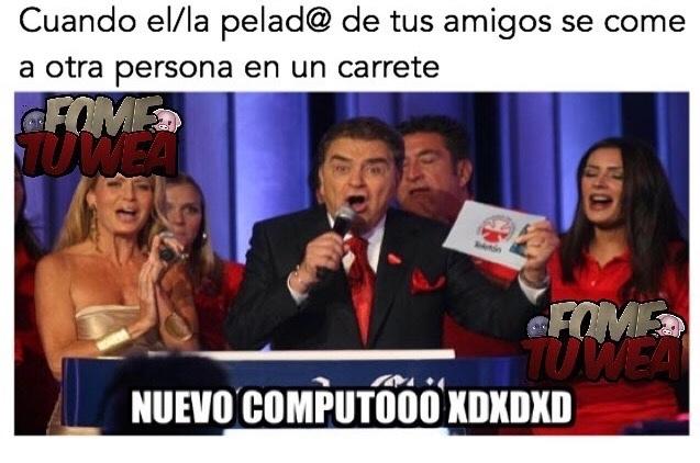 nuevo cómputo!! XDXDXD  - meme