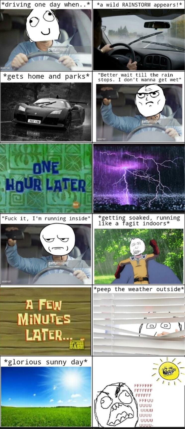 Got bored so I decided to make a rage comic. - meme