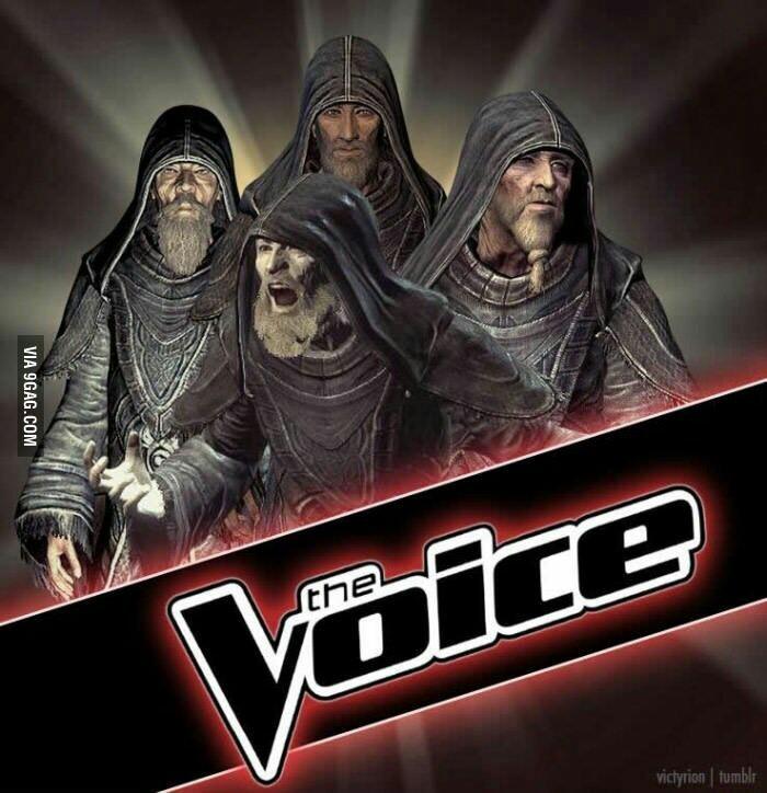 The Voice: Tamriel Edition - meme