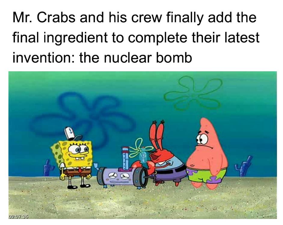 Its a bomb - meme
