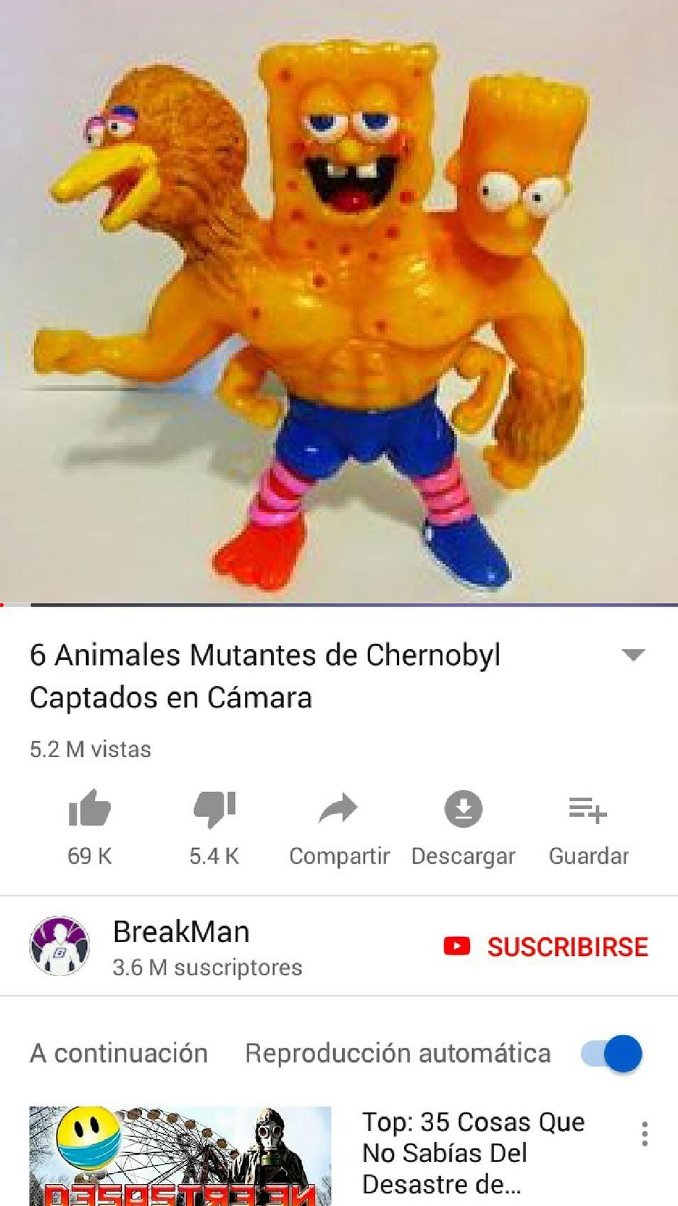 Siniestro - meme