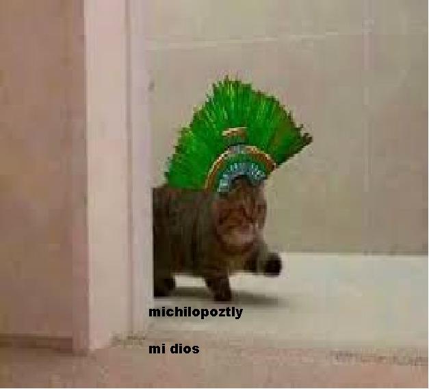 michilopoztly dios de la amvurgesa - meme
