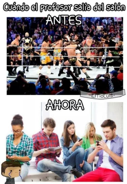 La lucha libre no es real :0 - meme