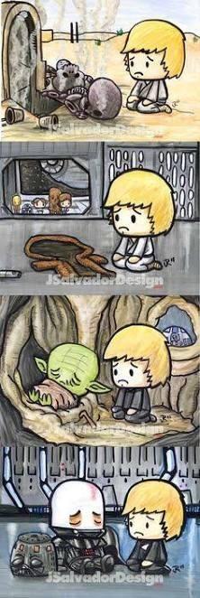 Foi mal ai Luke ;-; - meme