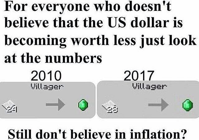 neincraft economy - meme