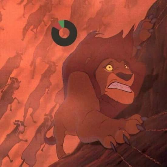 Then BotW feels... shoulda upgraded stamina mufasa :( - meme