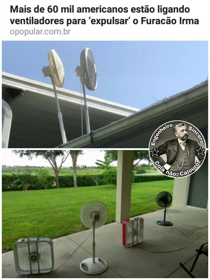 Se tivessem estocado vento, nd disso teria acontecido (mals se é repost) - meme