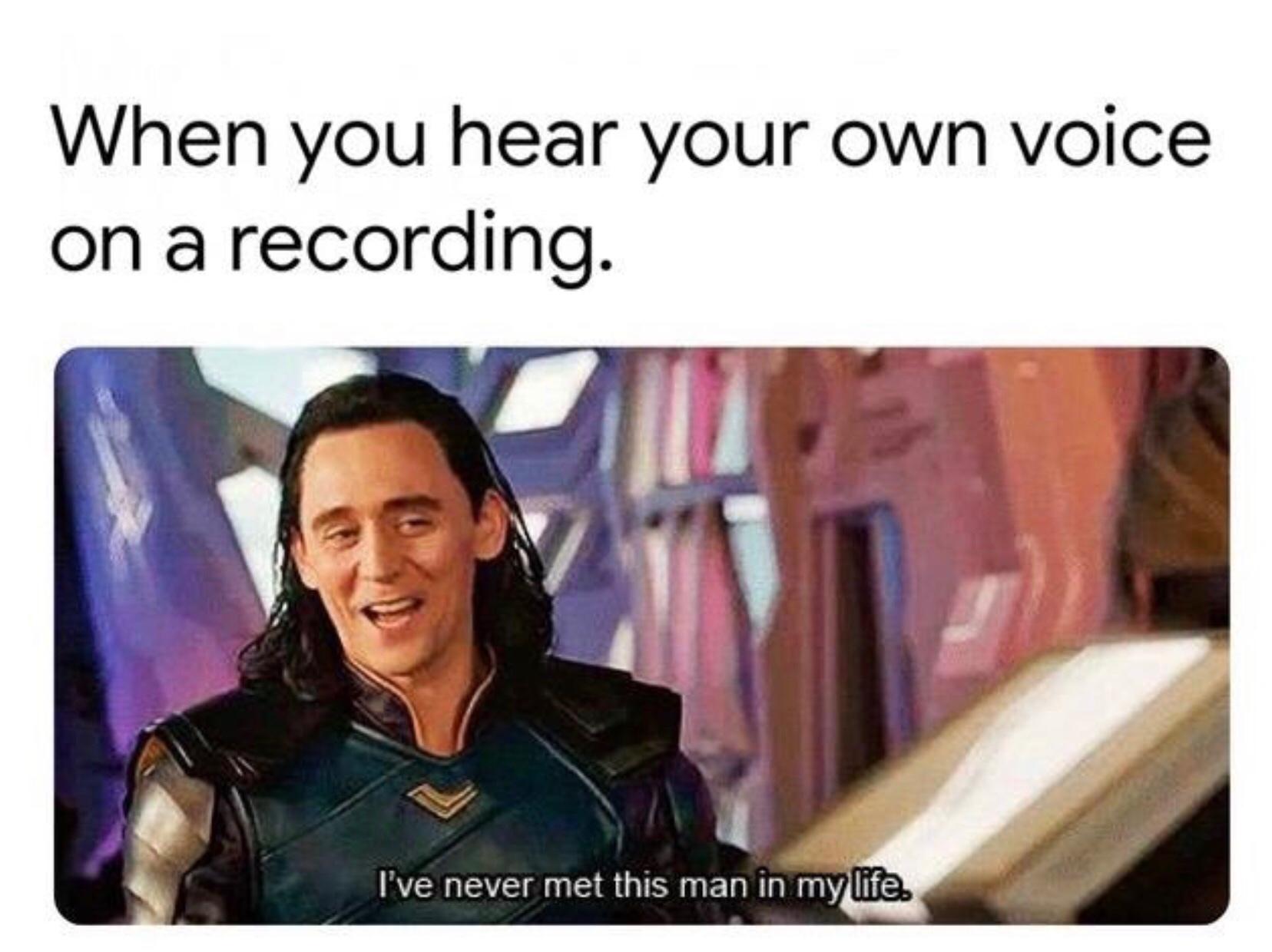 voice confrontation - meme