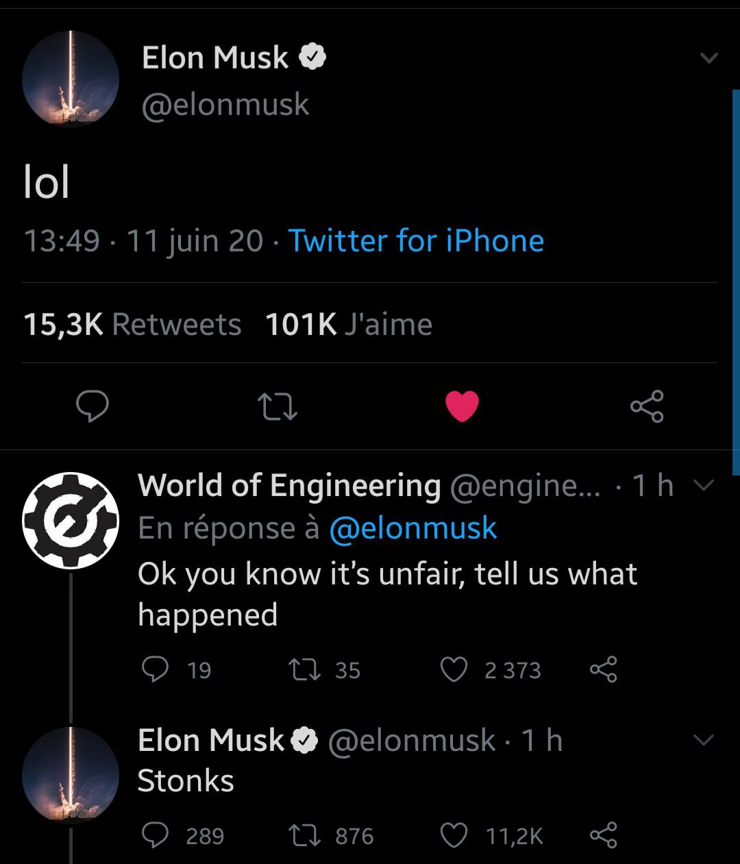 On aime Elon - meme