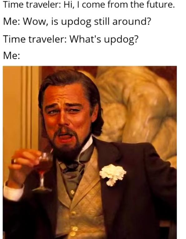 Time travler - meme