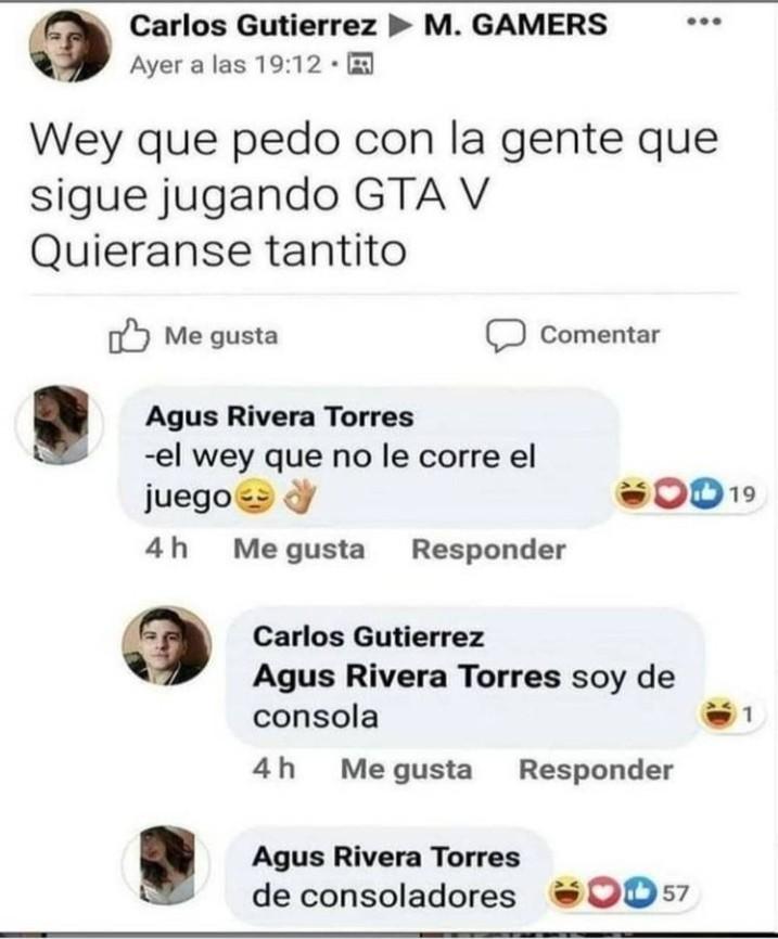 """""""Soy de consola"""" La play 2 no cuenta - meme"""