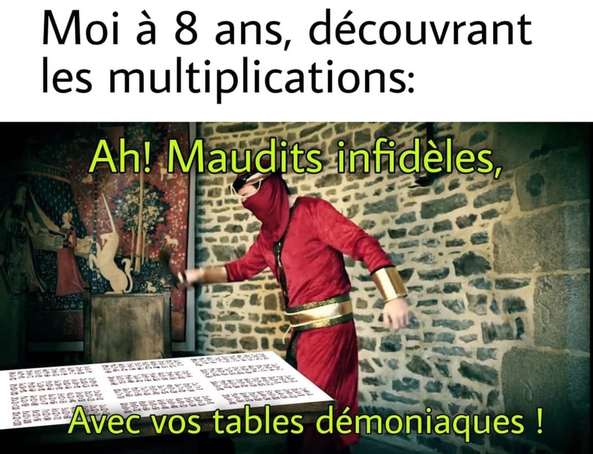 Vade Retro Mathematicas - meme