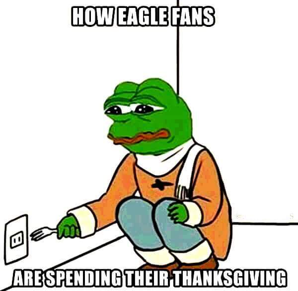After getting raped by Detroit on thanksgiving - meme