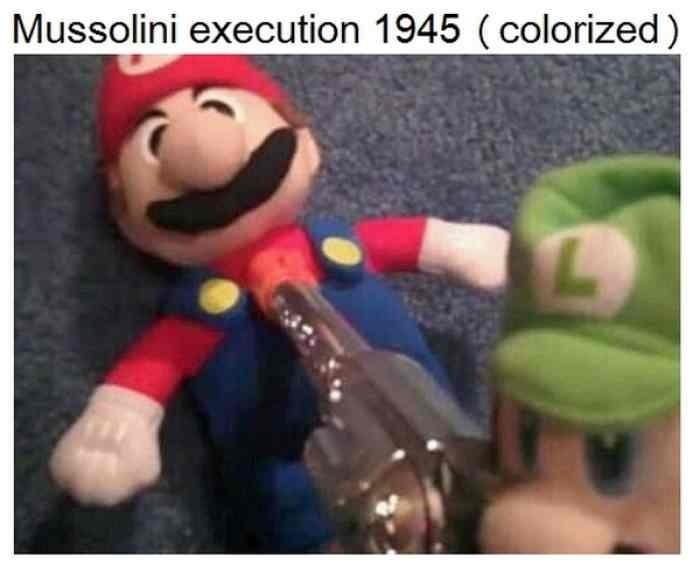Mario n'aurait pas du avoir cette sublime moustache - meme