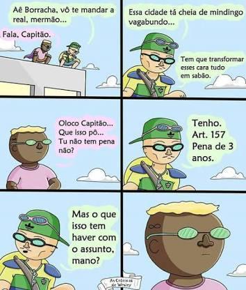Capitão Brazil - meme