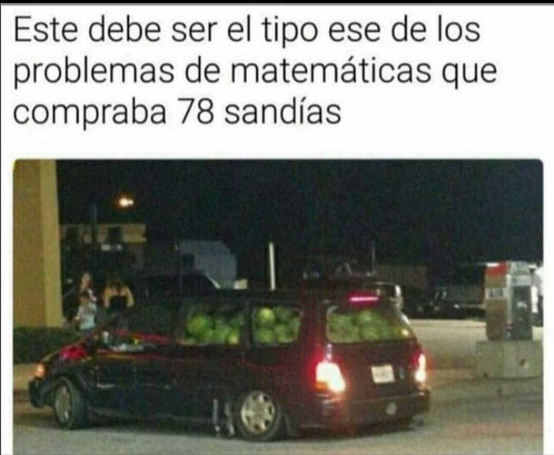 Matematicas hijo - meme