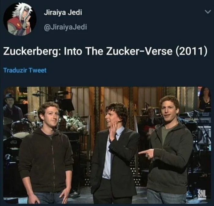 Maek, into the zuckerberg - meme