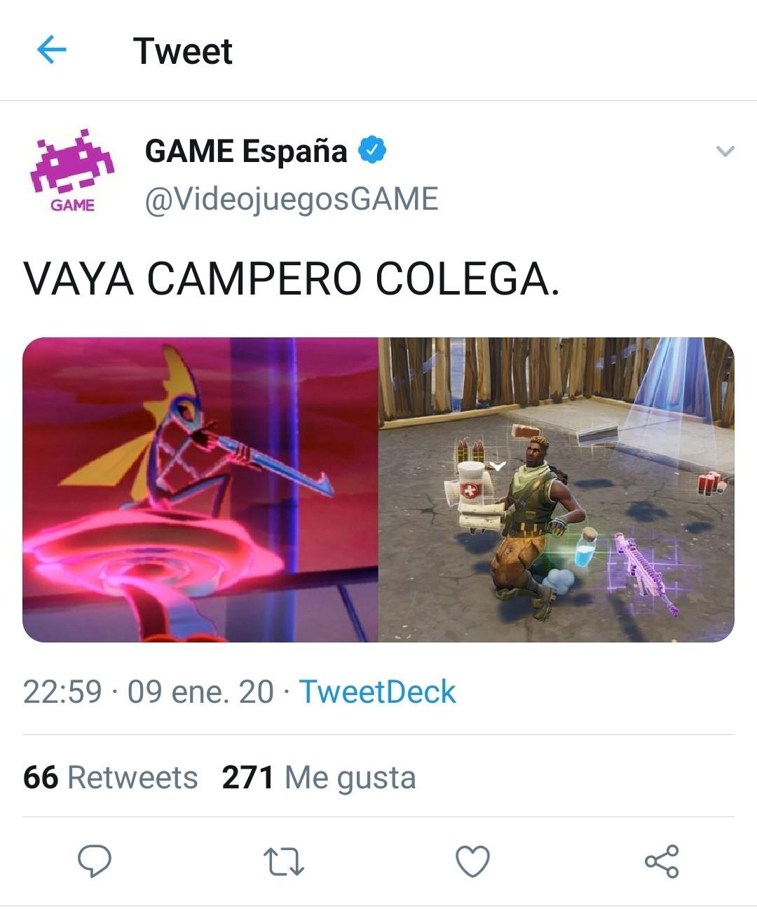 GAME España, les amo. - meme