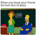 Mmmmmmm pizza