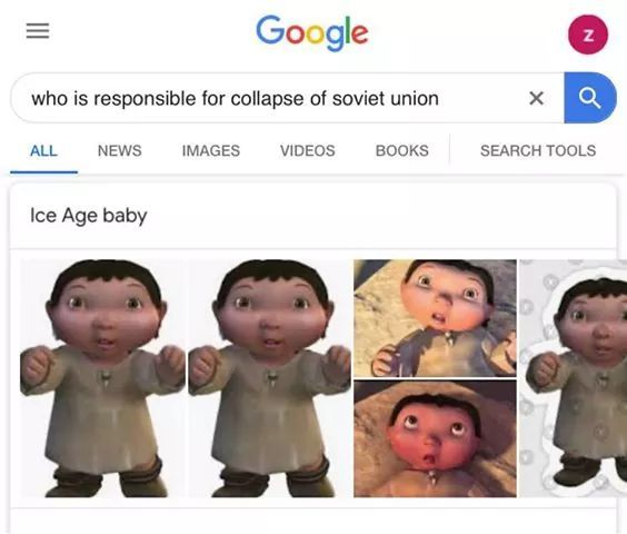 Who is responsible for collapse of Soviet Union - meme