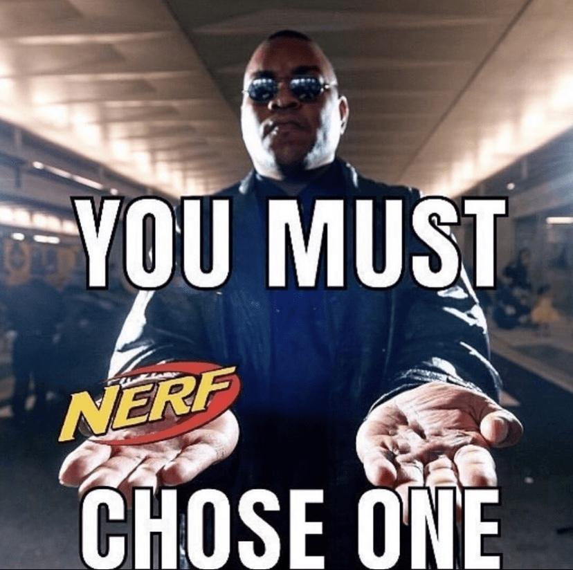 nerf - meme
