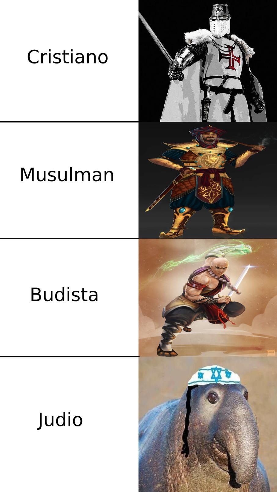 Religiosos - meme