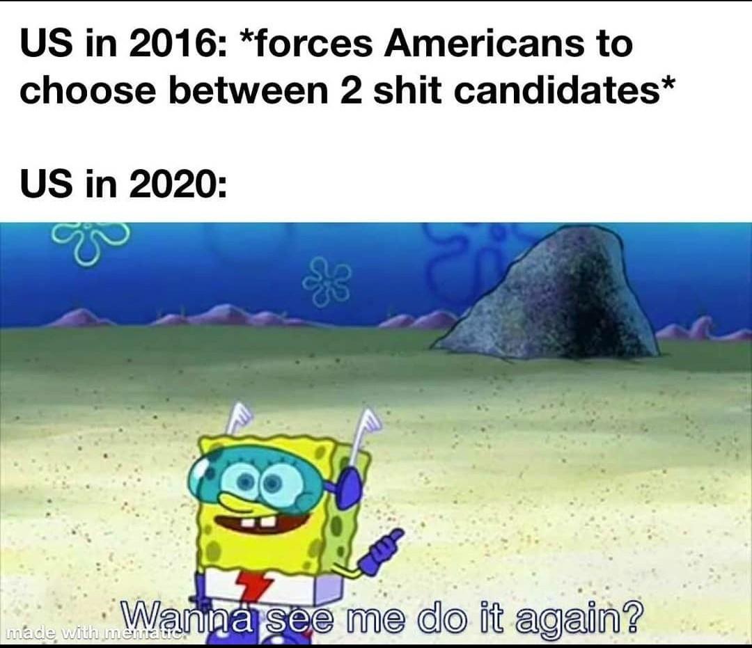 Poor america - meme